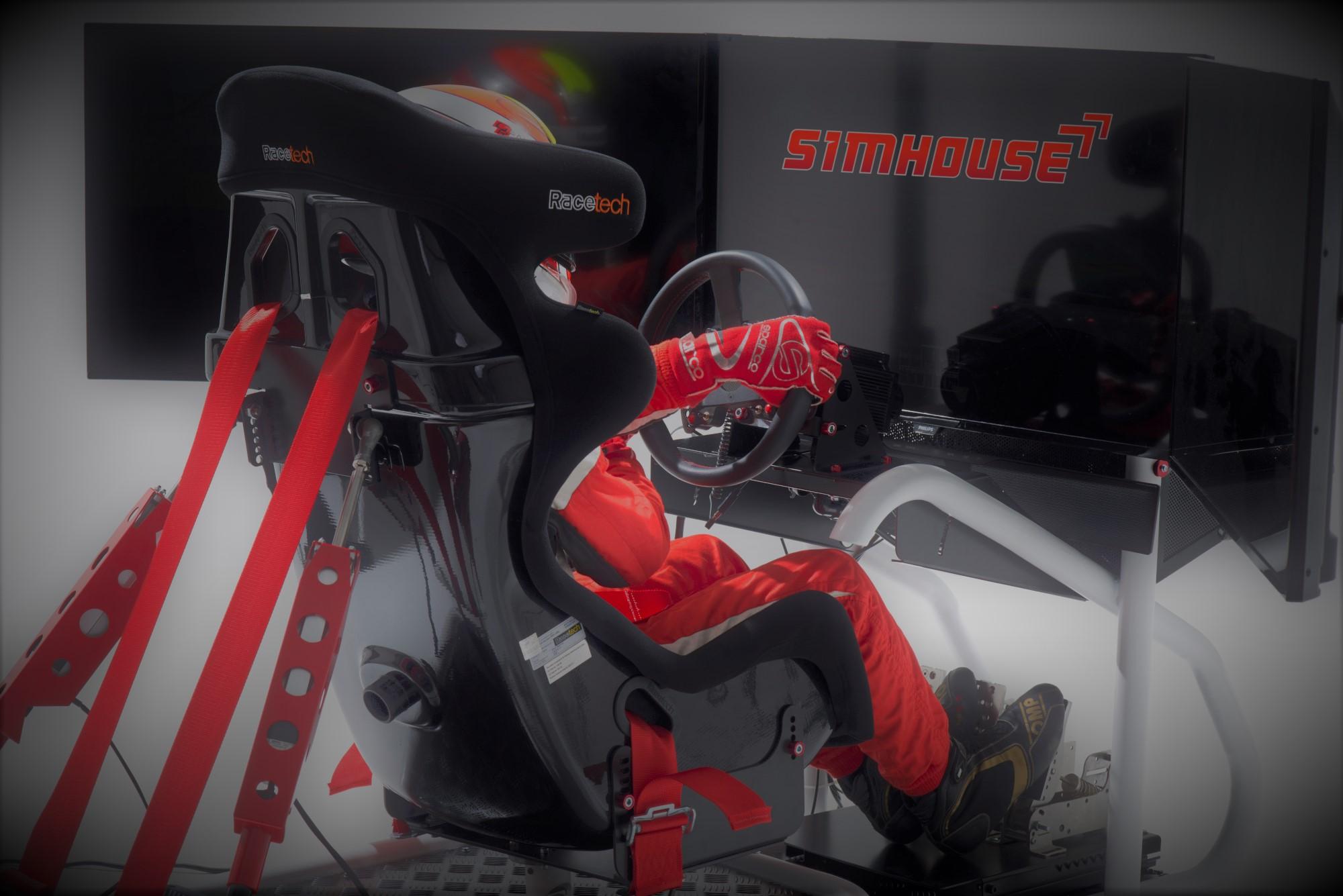 Versenyautószimulátor simulatorauto